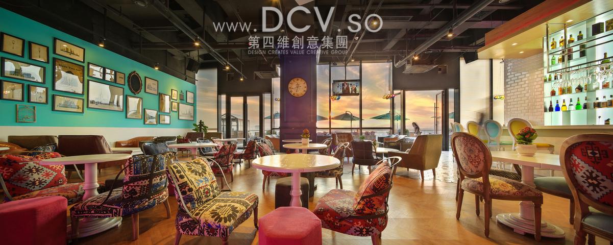 西安-most color繁色主题餐厅音乐酒吧设计(金地广场店)