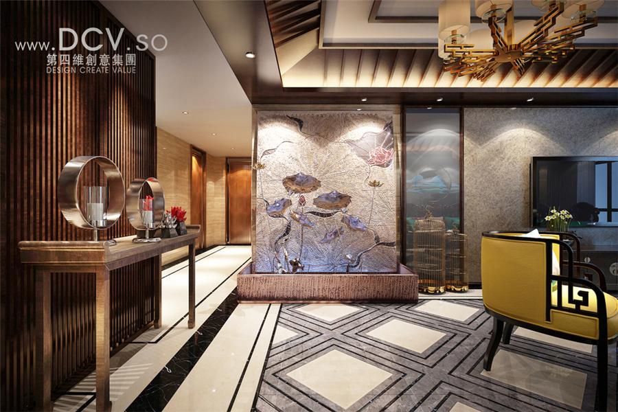 韩城-新中式住宅室内装修设计图片